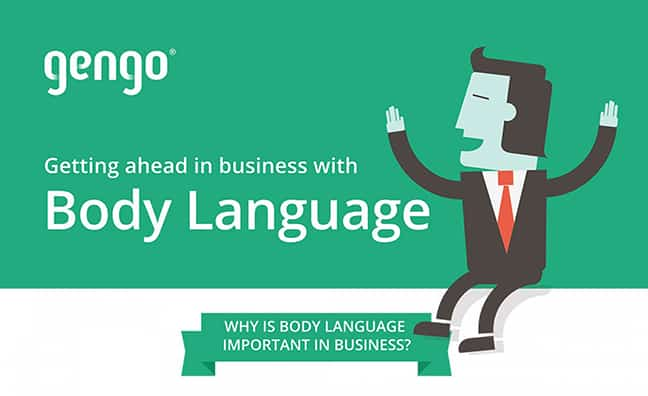 The Basics of Business Body Language (Infographic)
