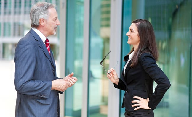 Build A Network: 5 Tips For Small Talk With Senior Colleagues
