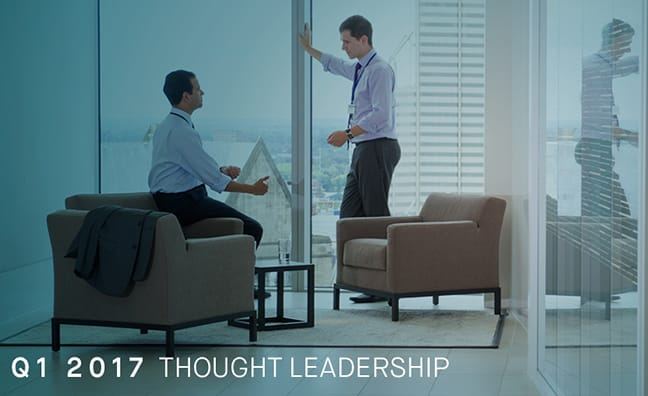 Thought Leadership: Q1 2017 Marketing & Investor Relations Search Update