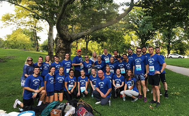 Solomon Page Joins NYRR for 5K in Central Park