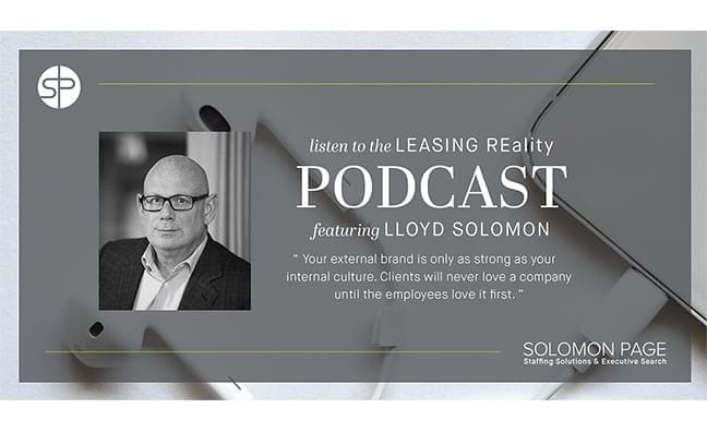 Lloyd Solomon Featured in Real Estate REality Check Podcast