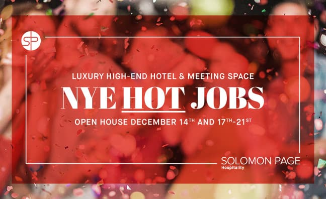 Hospitality Open House: Luxury New Year's Eve Event
